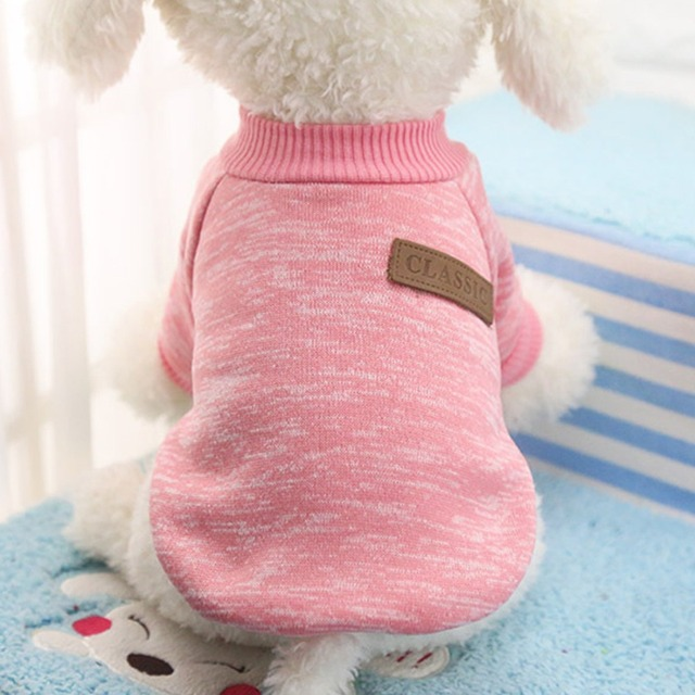 Dog Clothes For Small Dogs Soft Pet Dog Sweater Clothing For Dog Winter Chihuahua Clothes Classic Pet Outfit Ropa Perro 20-22S1 2