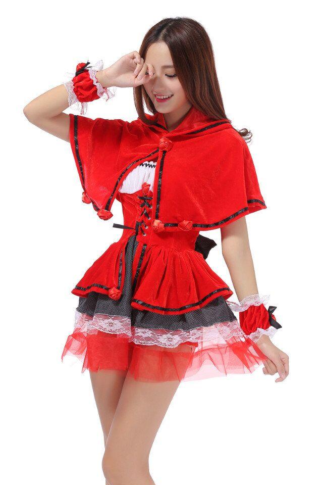 Halloween petit chaperon rouge Costume dames Cosplay Lingerie femmes Costumes