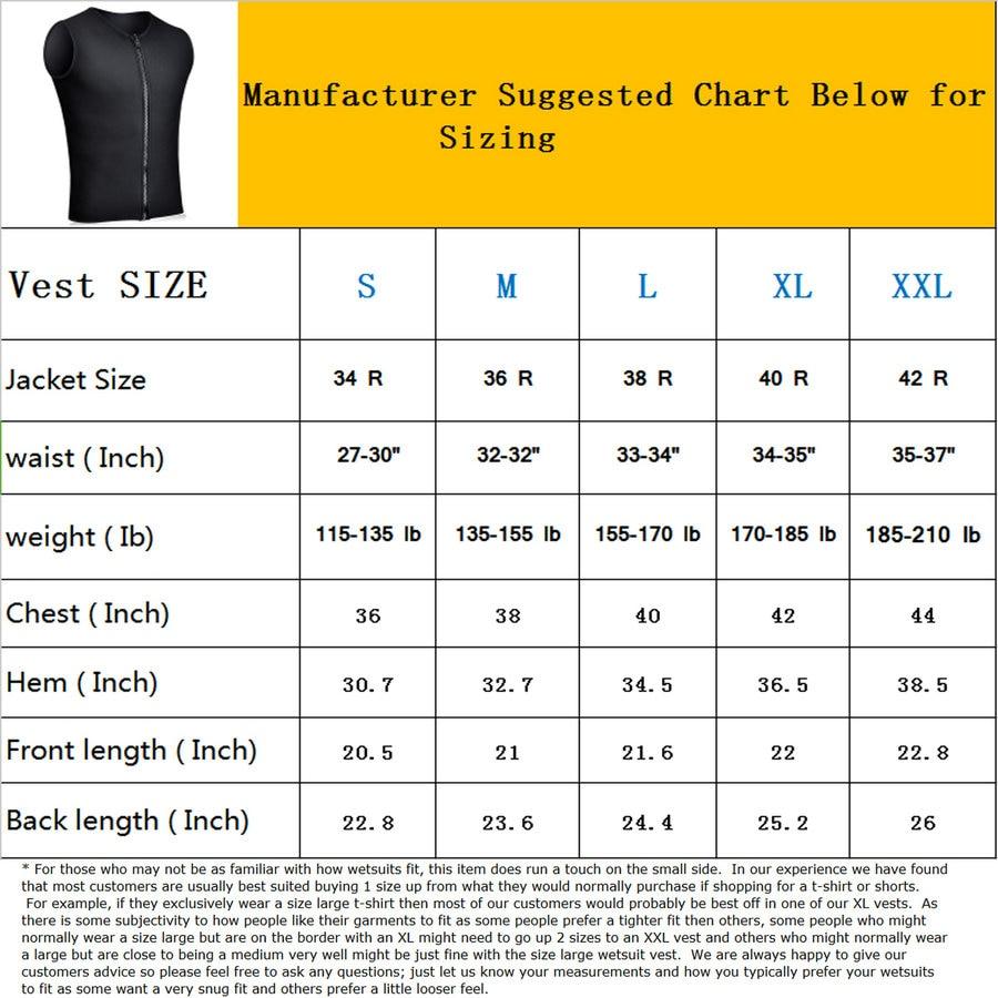 Realon Wetsuits Vest Mens 3мм неопреннің үстіңгі - Спорттық киім мен керек-жарақтар - фото 2