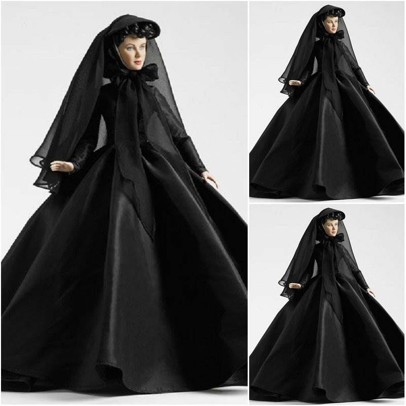 Sc-1222 gothique victorien/guerre civile sud Belle robe de bal ample robe Halloween Vintage robes sur mesure