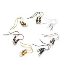 100pcs/lot 20x17mm DIY Earring Findings Earrings Clasps Hooks