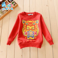 winter new style Baby girls animal tiger pattem coat,children outerwear,girls cotton  warm hoodies jacket kids clothes