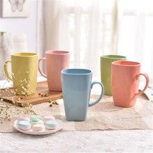 Einfache Keramik Kreative Milch Becher Tasse Tee Personalisierte Kunst Liefert Copo Tumbler Kurze Umweltfreundliche Kaffeetasse Ausgestattete QQB1010