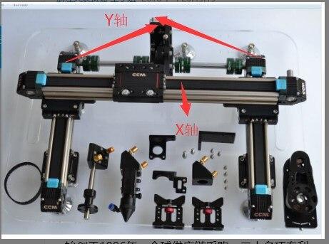 CCM 1390 module linéaire de courroie synchrone de curseur de CNC de module linéaire de voie linéaire de moteur pas à pas linéaire