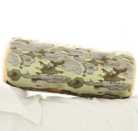 Wood Log Trunk Shape Pillow Sofa Throw Head Cushion Platanus