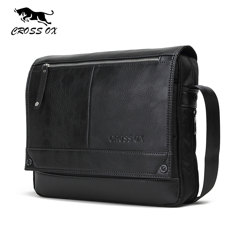 купить  CROSS OX 2017 Spring New Arrival Men's Messenger Bags For Men Cross Body Bag Men's Shoulder Bags Business Casual Style SL383M  недорого