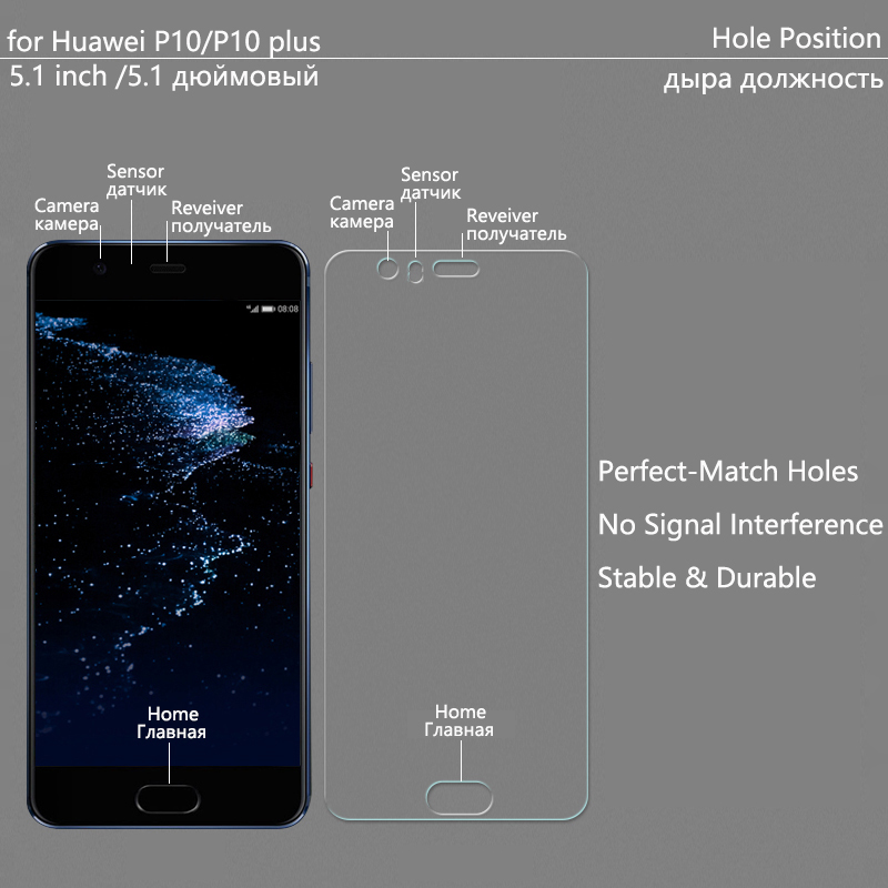 Image 3 - Tempered Glass For Huawei P30 lite P20 P10 lite Screen Protector For Huawei P30 P20 Transparent Full Cover for P10+ P20 Pro Film-in Phone Screen Protectors from Cellphones & Telecommunications