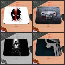 High High quality Custom-made Marvel Comics Punisher Masks Emblem Sport Gaming Sturdy Mouse Mat PC Pc Mouse Pad Laptop computer Mat to Mouse