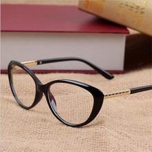 Kottdo новые марка женщины оптические очки спектакль рамка cat eye очки анти-усталость компьютер очки для чтения очки очки