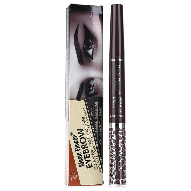 24 Hours Models Prefer Waterproof Eyebrow Pencil Cream Rich Smudge
