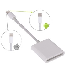 Hot Selling Cable Digital Camera Kit Card Reader Compatible OTG Data For Apple 10.3 And Android