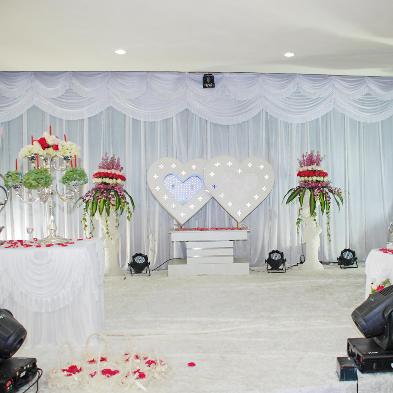 Online buy wholesale wedding reception backdrops from for Backdrops wedding decoration