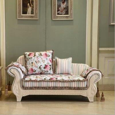living room furniture modern fabric sofa European sectional sofa set 1035
