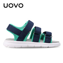 UOVO 2017 New Kids Sandals Boys Summer Shoes Open Toe Beach Shoes For Children Casual Comfortable Europe America Style Design