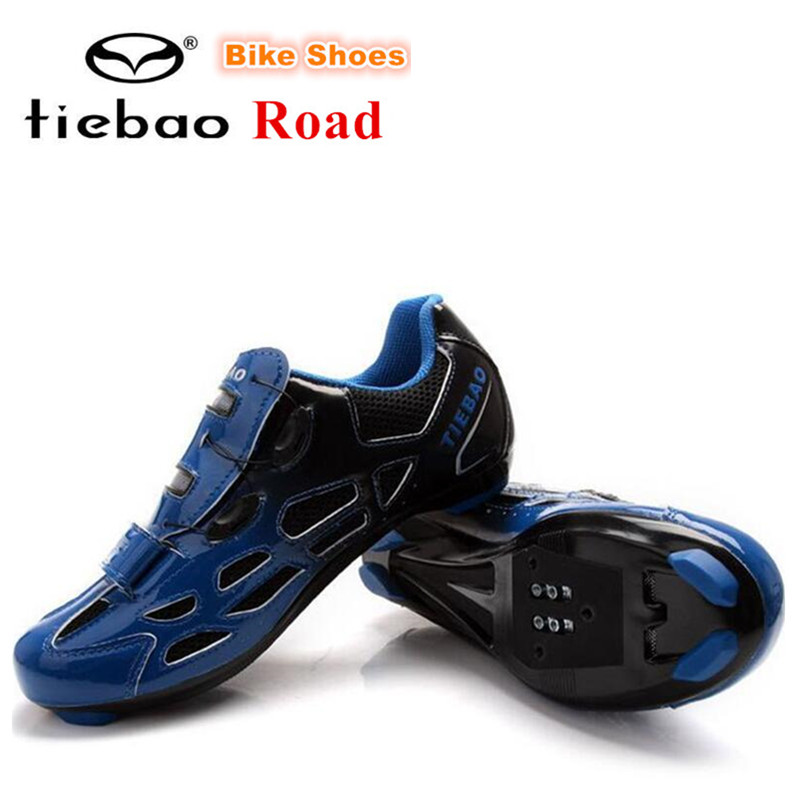 TIEBAO road cycling shoes blue men sneakers women bicycle self-locking superstar shoes superstar original street athletic shoes