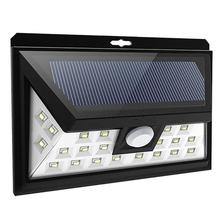 MUQGEW 24 led Outdoor Solar Sensor LED Light Motion Sensor solar lamp
