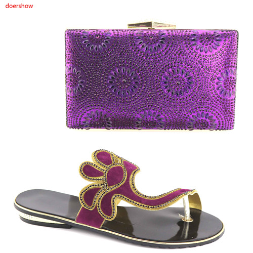 doershowShoes and Bag Sets Decorated with Rhinestone Women Shoes and Bag Set In Italy African Wedding Shoes and Bag Sets HBV1-18doershowShoes and Bag Sets Decorated with Rhinestone Women Shoes and Bag Set In Italy African Wedding Shoes and Bag Sets HBV1-18