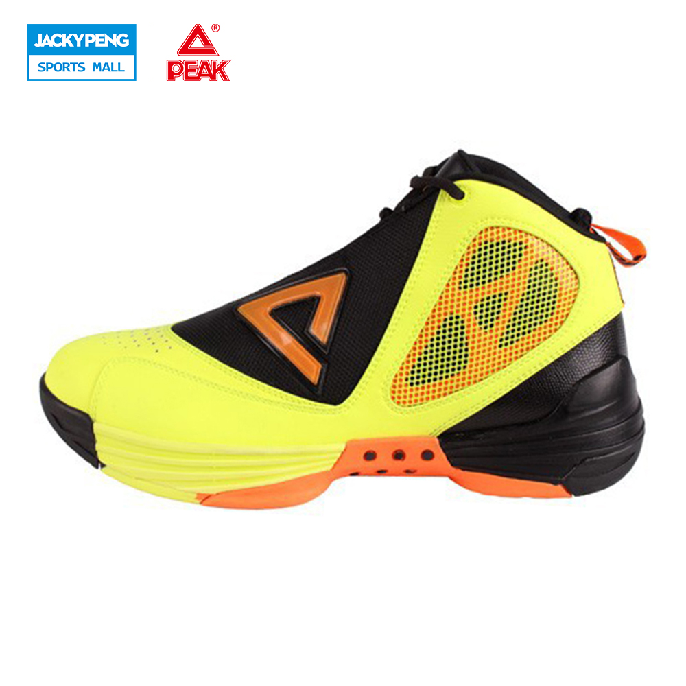 PEAK SPORT Monster 1.2 Men Basketball Shoes FOOTHOLD Cushion-3 Tech Training Boots Competitions Athletic Sneakers Size EUR 40-49 peak sport authent men basketball shoes wear resistant non slip athletic sneakers medium cut breathable outdoor ankle boots