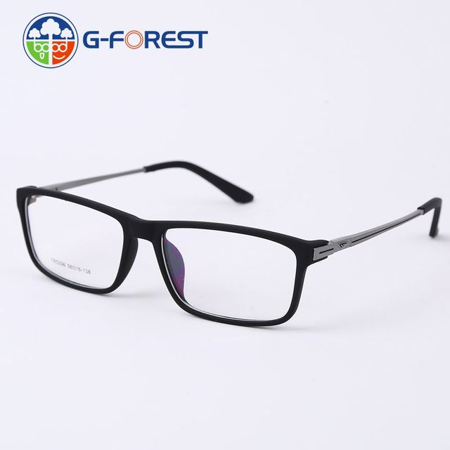 449ee93aa2c New arrival spectacle frames MEN myopia glasses frame eyeglasses optical  aluminium temple TR90 prescription eyeglasses tr5206