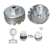 Chiave a tazza in alluminio con filtro olio per Toyota Prius Corolla Rav4 Auris G08 Drop ship 64.5mm/14P