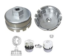 Llave de copa de aluminio para filtro de aceite, para Toyota Prius Corolla Rav4 Auris G08, 64,5mm/14P