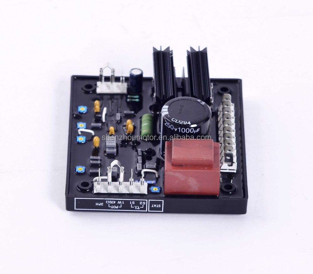 Frete grátis gerador sem escova regulador de tensão avr r438