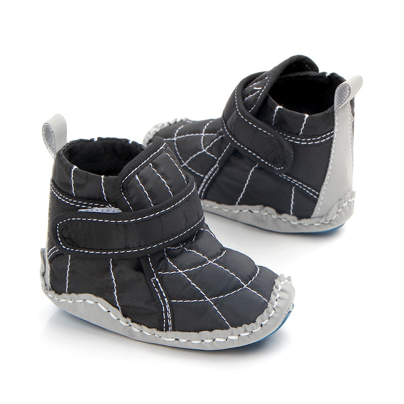 Kids Baby Sneakers Boys Boots Shoes Newborn Infant New Born First Walker Shoe Classic Casual Warm Non-slip Soft Moccs Shoes