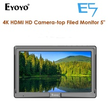 Eyoyo E5 5 Inches 1080P Field IPS Video Monitor DSLR On-Camera 4K monitor HDMI IN OUT for Gimbals Stabilizer monitor display mini 7 1080p on dslr camera video field monitor w hdmi in out sunshade for sony canon vs 1 finehd new version
