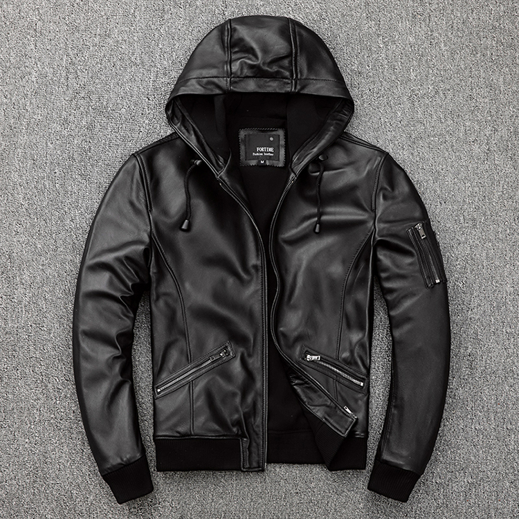 Free Shipping.Plus Size Brand Soft Sheepskin Leather Jacket,mens Genuine Leather Jacket.autumn Casual Slim Coat,sales.outdoor