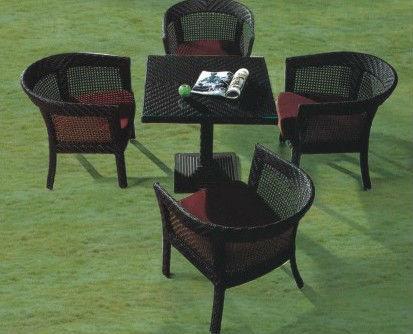 Muebles de Jardín de ratán al aire libre