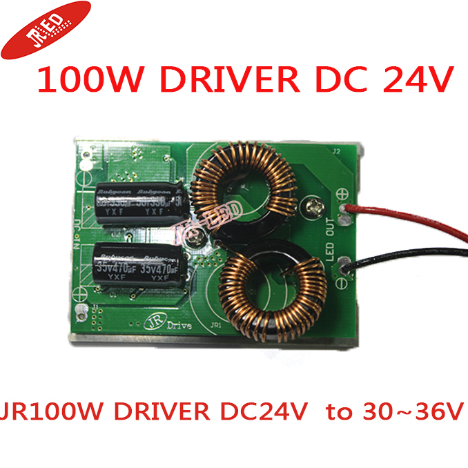 <font><b>24V</b></font> Driver adaptor power supply for 100W <font><b>led</b></font> high power <font><b>led</b></font> light lamp DC-<font><b>24V</b></font> to 30~36V image