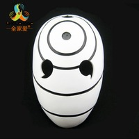 High Quility Halloween Party Cosplay New Version Naruto Obito Anime Masks Tobi Mask Uchiha Cosplay Costume Movie Prop Replica