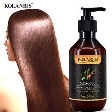 Марокканское аргановое масло питательный Кератиновый шампунь для сухих завивки волос секущиеся кончики повреждения протеиновое лечение
