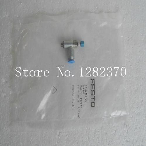 [SA]  FESTO gas fitting GRLA-M5-QS-4-RS-D spot 197577 --5pcs/lot