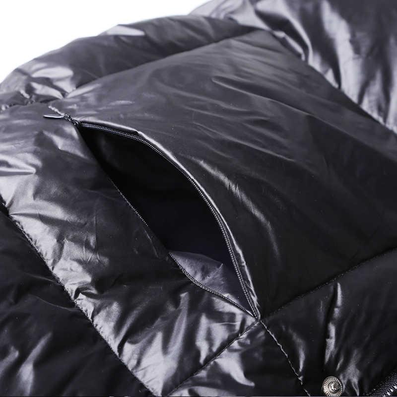 リアルナチュラル毛皮 2019 新冬ジャケット女性ルースアヒルダウンジャケット女性ロングダウンパーカー厚手フード付きコートプラスサイズのオーバーコート