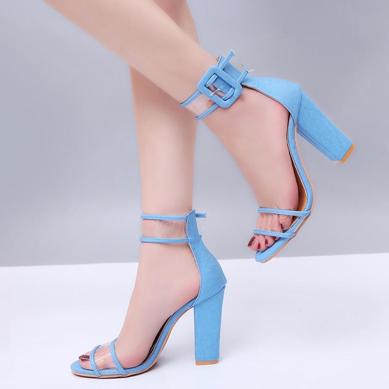 Texture Sandale Sandales snake Mode Taille Pompe 43 Femme black red Transparent Haute Aphixta Chaussures Plus 2018 Femmes Grande blue Gold D'été Super Carré Talon yv0Owm8nN