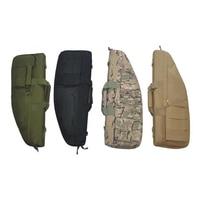 70 cm Tactical Airsoft Rifle bag Caccia Paintball Shooting Gun Bag Esercito Militare Carbine Rifle Caso Con 3 Sacchetti