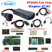 Quality Best Lexia3 Full Chip Gold PCB Diagbox V7.83 PP2000 V48/25 Lexia 3 For Citroen For Peugeot Firmware 921815C NEC Relay