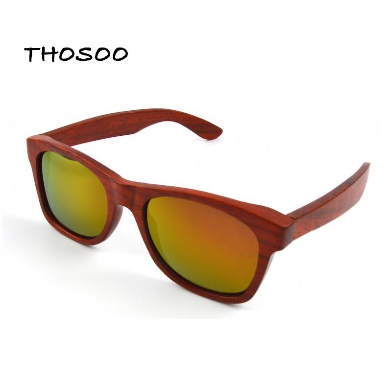 2018 Óculos De Sol com Lente Polarizada Moda óculos de Sol Óculos de Sol De  Madeira de Jacarandá Bambu Óculos De Sol para Mulheres Dos Homens Do  Esporte de ... e6e8f39122