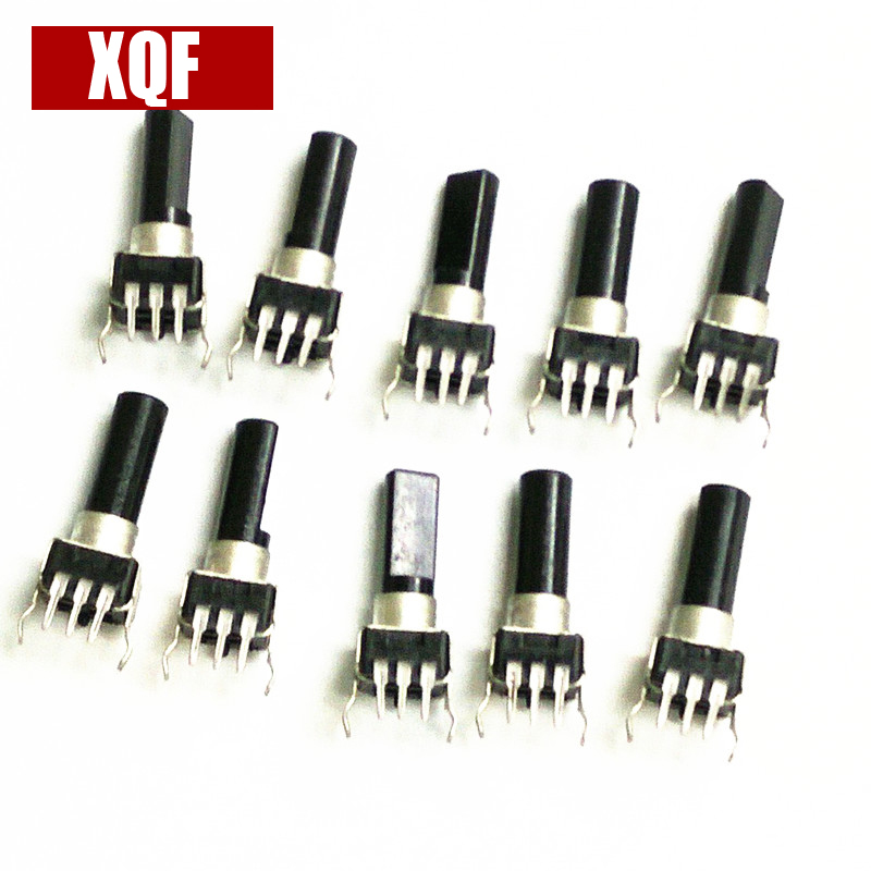 XQF Volume Switch/Potentiometer For Yaesu FT-1802M FT-1807 FT-1900 FT-1907 Radio Accessories 10pcs
