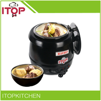 ITOP BS W1C Buffet Pot Soup Kettle Electric 110V 220V Soup Warmer Have Stock In US