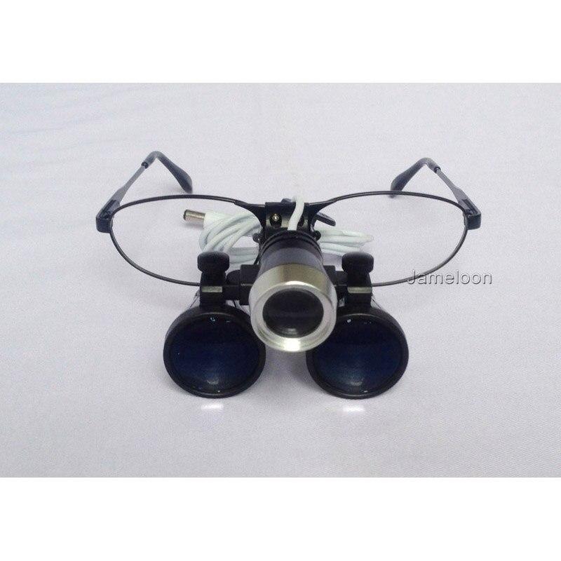 3.5 nagyítás cserélhető rövidlátó szemüveg fémkeret fogorvos - Mérőműszerek - Fénykép 4