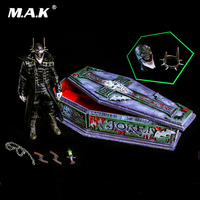 For Collection 1/6 Scale Full Set Dark Nights Metal Laughing Bat Batman Model Toys Deluxe Edition for Fans Holiday Gift