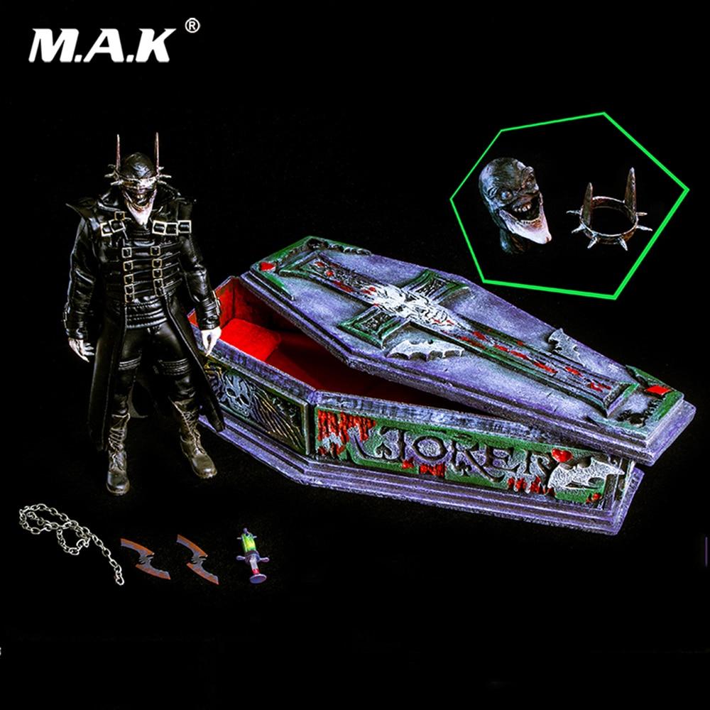 Pour Collection 1/6 échelle ensemble complet nuits sombres métal chauve-souris rire Batman modèle jouets édition de luxe pour les Fans cadeau de vacances