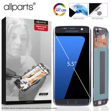 5 5 ORIGINAL AMOLED S7 edge Display For SAMSUNG Galaxy S7 Edge Screen Display Touch with