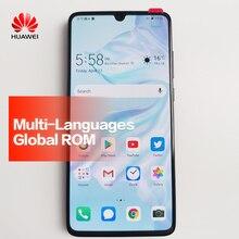 Мобильный телефон HUAWEI P30 с глобальной прошивкой полный экран Поддержка NFC OTA обновление смартфон 3650 мАч Восьмиядерный Android бар 40MP + 16MP + 8MP