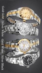 Image 2 - GUANQIN montre mécanique pour femmes, lumineuse, de luxe, diamant, pour filles, 2020