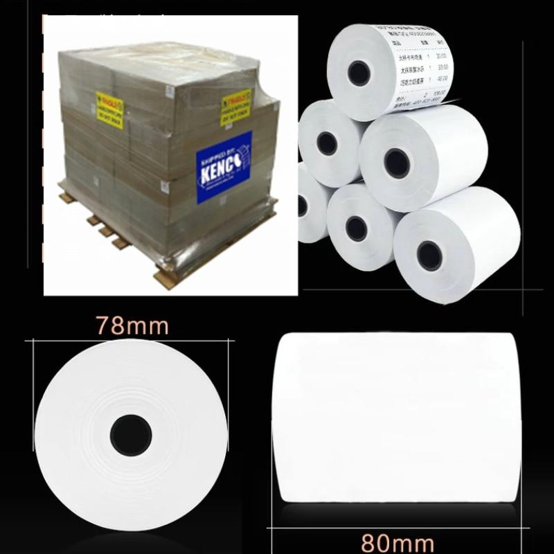 Thermal Cash Register POS Paper Rolls 3 1/8