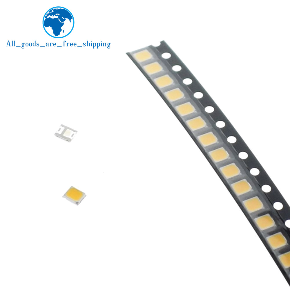 Electronic Components & Supplies Well-Educated Tzt 200pcs 21-25 Lm White/warm White 2835 Smd Led 0.2w High Bright Chip Leds New Hot