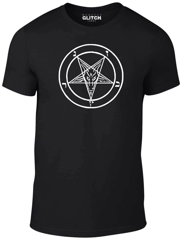 Baphomet Sigil T-Shirt - Funny t shirt Satan retro devil bible anti christ witch Harajuku Tops Fashion Classic Unique t-Shirt